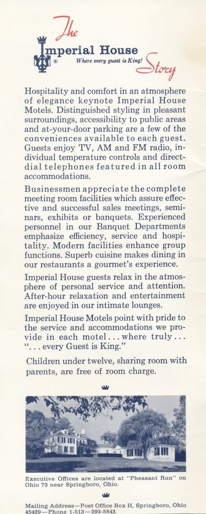 Imperial House Information