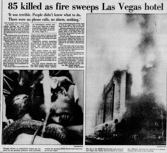 mgm grand fire 1980