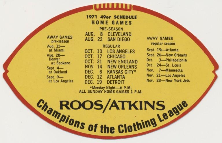 1971-san-francisco-49ers-schedule-2