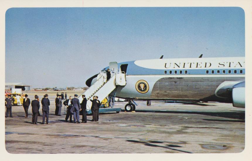 presidential-plane-dallas-texas_10986246636_o