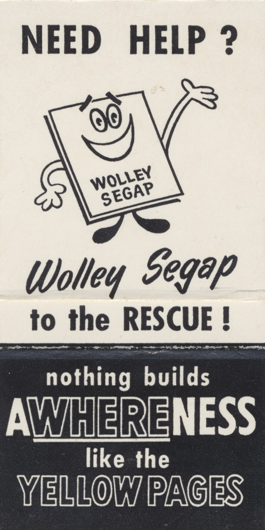 Wolley Segap To The Rescue CARDBOARD AMERICA