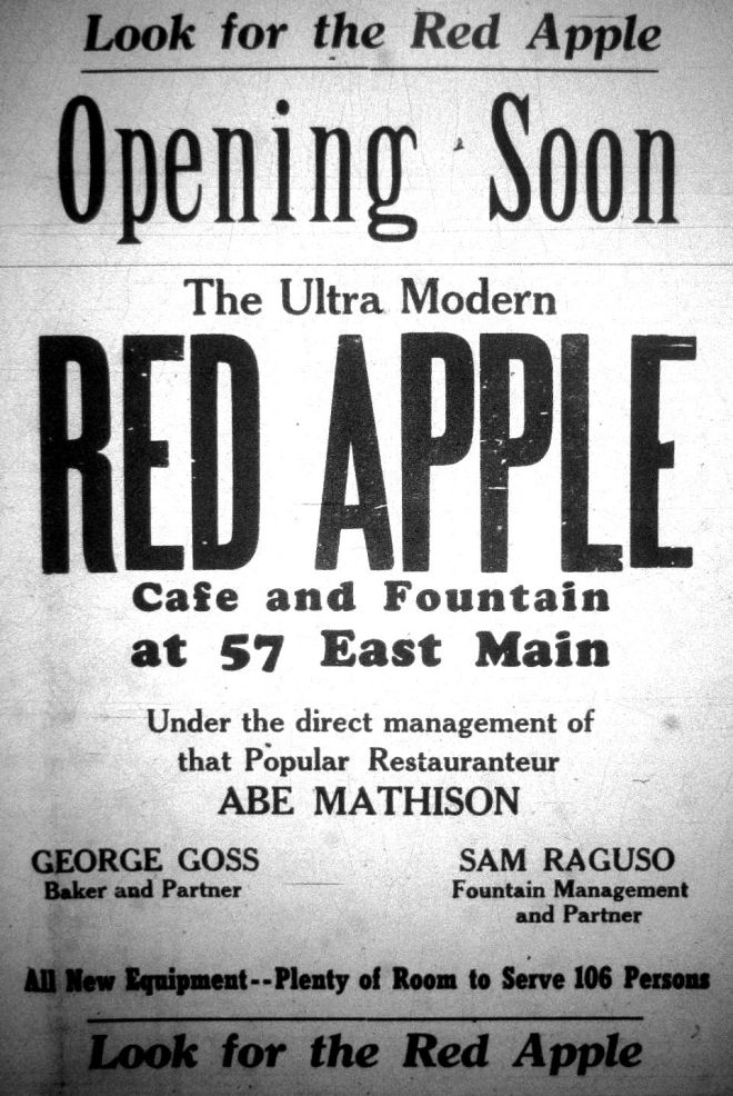 Red Apple opens, 1948