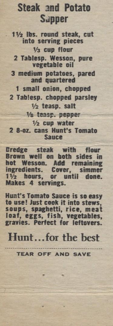 Steak and Potato Supper (2)